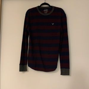 American eagle waffle knit thermal